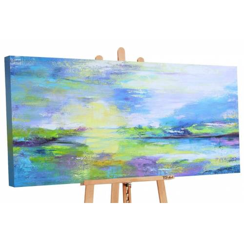 ART YS-Art Gemälde »Tal der Wünsche 094«