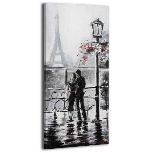 ART YS-Art Gemälde »Nach dem Regen 085«