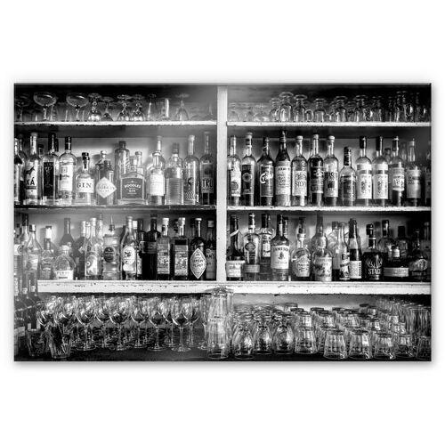 Küchenrückwand »Klassische Bar Spritzschutz«, (1-tlg), transparent