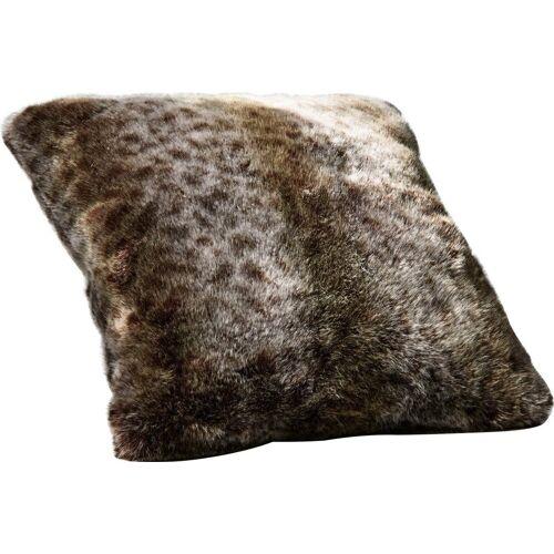Star Home Textil Dekokissen »Luchs«, besonders weich, hochwertig, braun