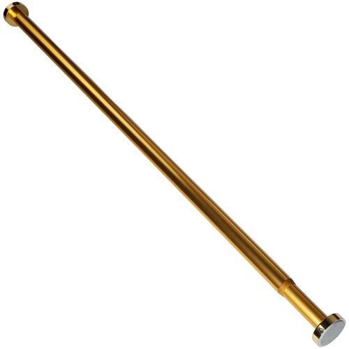 Sanilo Klemmstange »Gold«, , Ø 28 mm, ausziehbar, für Duschvorhänge, Duschvorhangstange Gold 90-160cm