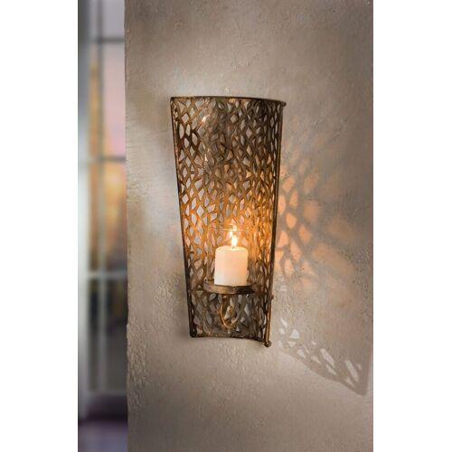 HomeLiving Windlicht »Shabby-Grey«