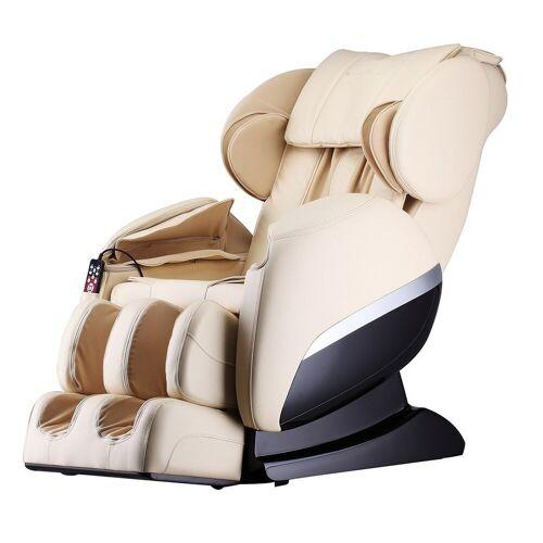 HOME DELUXE Massagesessel »Siesta V2« (1-tlg), Ganzkörpermassage, beige   beige