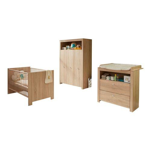 ebuy24 Jugendzimmer-Set »Olja Kindermöbelset, Kinderbett, Wickelkommode un«