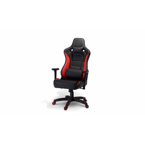 ebuy24 Gaming Chair »Garry Bürostuhl Gamer Stuhl schwarz und rot.«