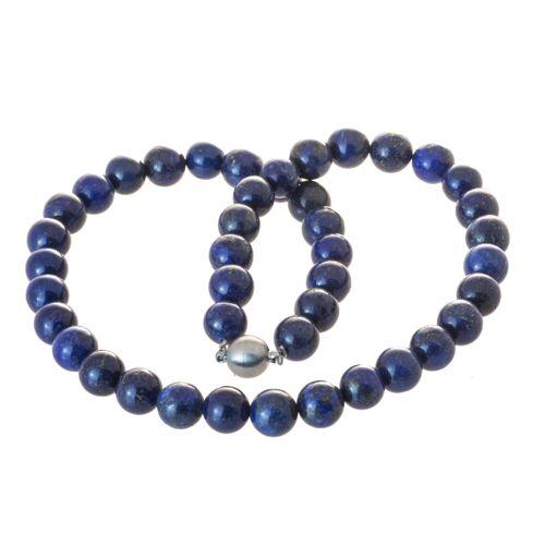 Bella Carina Perlenkette »Lapislazuli 10 mm«, Lapislazuli 10 mm