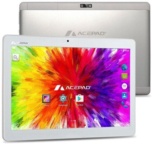 """Acepad A12G Tablet (10.1"""", 64 GB, Android, 4G (LTE), Dual-SIM, 10"""", WiFi, mit Tastaturtasche), Weiß ohne Tastaturtasche"""