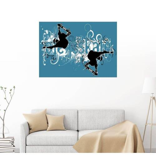 Posterlounge Wandbild, Skate