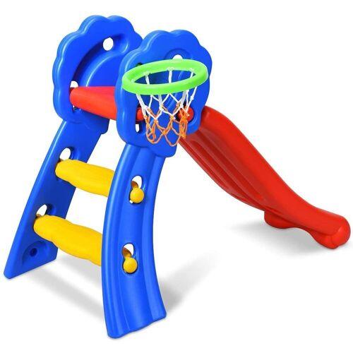 COSTWAY Basketballkorb »Rutsche«, mit Basketballkorb