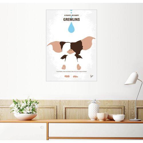 Posterlounge Wandbild, Premium-Poster Gremlins