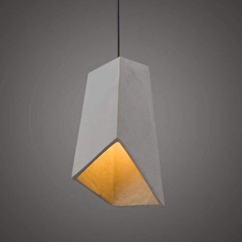 ZMH Pendelleuchte »E27 hängeleuchte Beton Betonlampe vintage«, grau