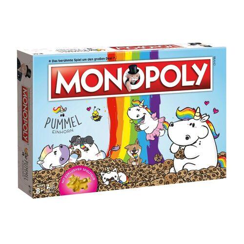 Winning Moves Spiel, Brettspiel »Monopoly Pummeleinhorn Collector's Edition gold«