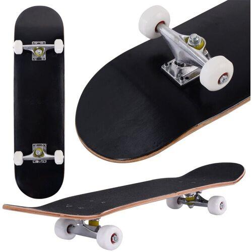 COSTWAY Skateboard »Skateboard«, Schwarz