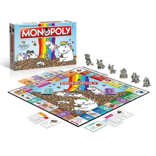 Winning Moves Spiel, Brettspiel »Monopoly Pummeleinhorn«