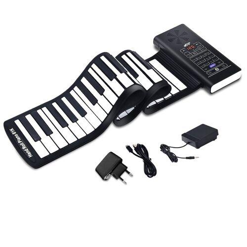 COSTWAY Keyboard »Rollpiano«, 61 Tasten Roll Up Piano