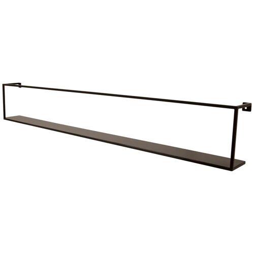 mokebo Wandregal »Die Landungsbrücke«, auch als industrial Wandregal in schwarz Metall