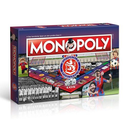 Winning Moves Spiel, Brettspiel »Monopoly Wuppertaler SV«
