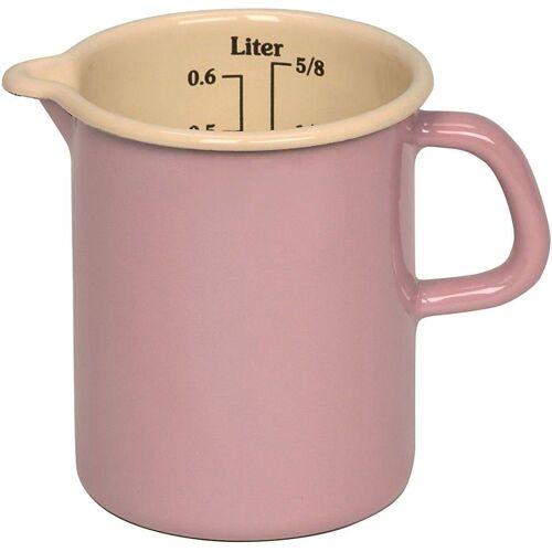 "Riess Messbecher »Emaille Litermaß ""Pastell"" 0,5l«"