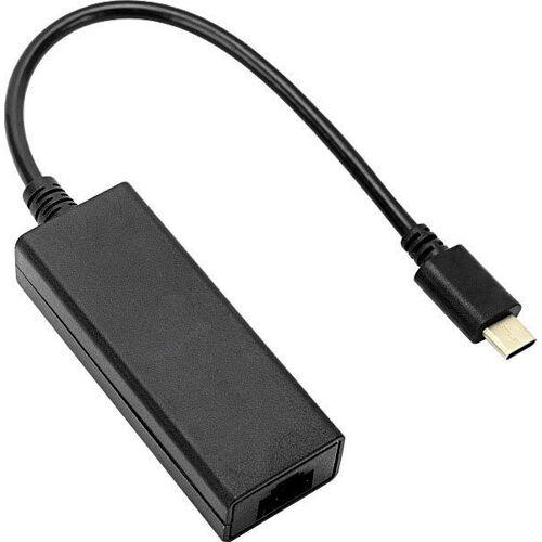 Speedlink »USB-C zu Ethernet Adapter HQ« Laptop-Adapter RJ-45 (Ethernet), 15 cm