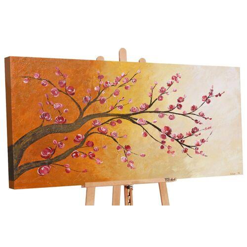 ART YS-Art Gemälde »Blütezeit 112«