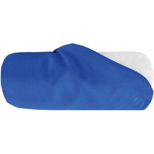Bestlivings Nackenrollenbezug, (1 Stück), Nackenrollenbezug / Kissenbezug in versch. Größen, samtweich, Blau