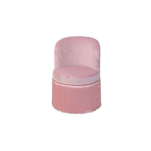 moebel-direkt-online Sessel »Max« (1-tlg), trendige Samtoptik, rosa