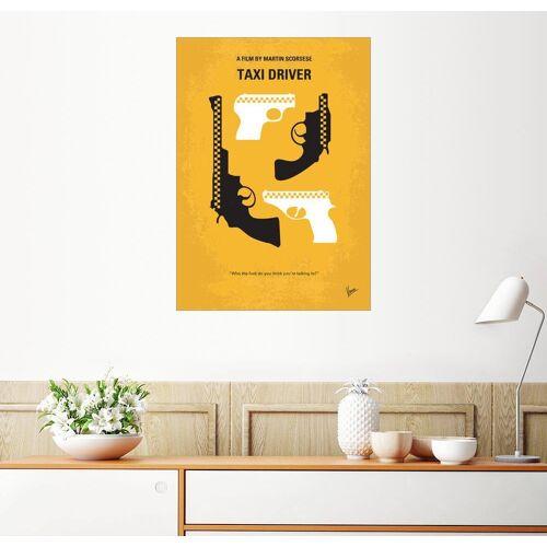 Posterlounge Wandbild, Premium-Poster Taxi Driver