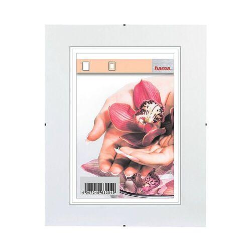 Hama Rahmenloser Bilderhalter, 21 x 29,7 cm »Clip-Fix«, transparent