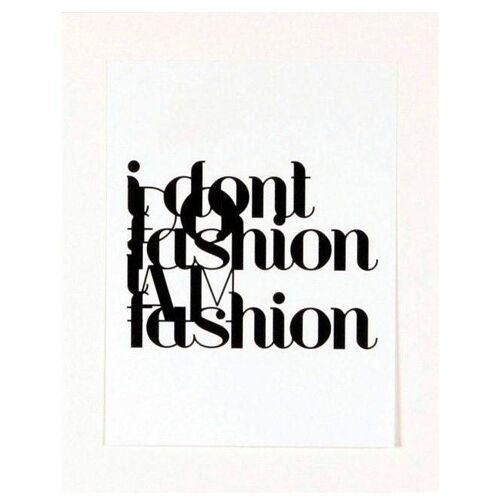 Home affaire Kunstdruck »Fashion«, 33/43 cm, gerahmt