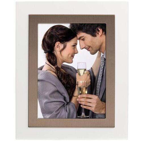 Hama Bilderrahmen »Portraitrahmen Portrait Bilder-Rahmen Foto Bild Porträt«, für 1 Bilder, mit Aufsteller, Rosegold