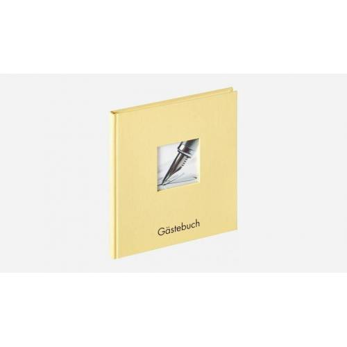 Walther Album »GB-205-H Fun Gästebuch 23x25 cm creme«