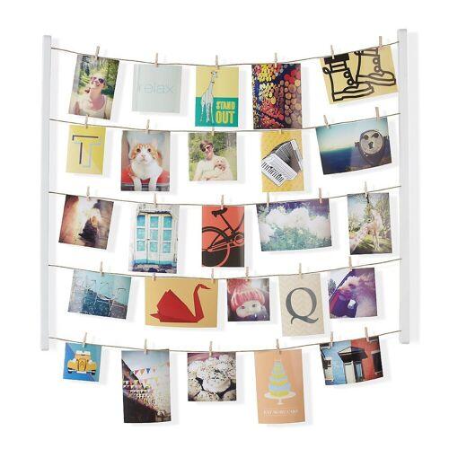 """Umbra Bilderrahmen »Galerie für Fotos, Postkarten & Co. """"Hang It""""«, weiß"""