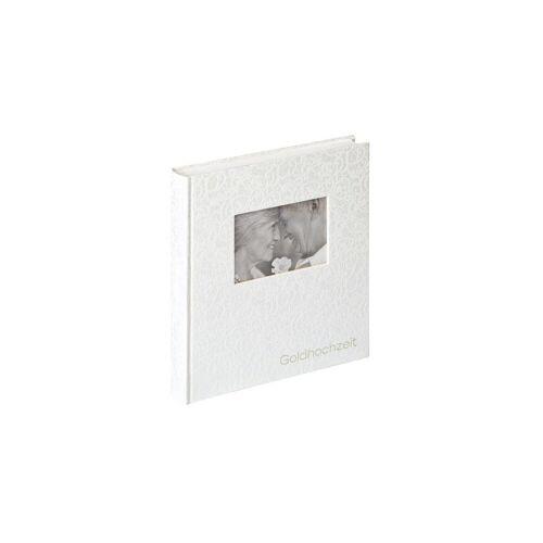 Walther Album »Goldhochzeitsalbum weiss, 28x30,5 UG-107«