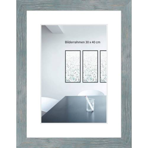 FrameDesign Mende Bilderrahmen »Bilderrahmen H750«, blau