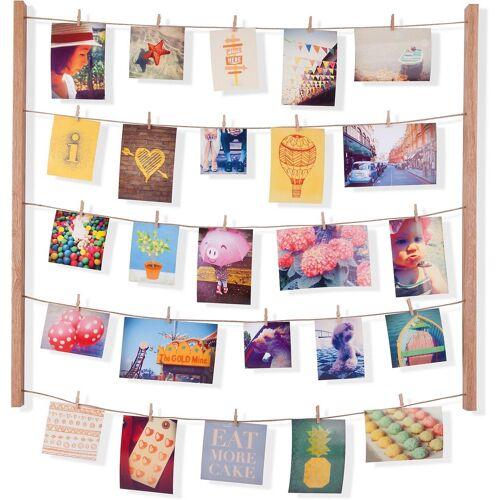 "Umbra Bilderrahmen »Galerie für Fotos, Postkarten & Co. ""Hang It""«, beige"