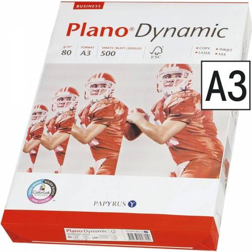 Plano Druckerpapier »Dynamic«, Format DIN A3, 80 g/m²