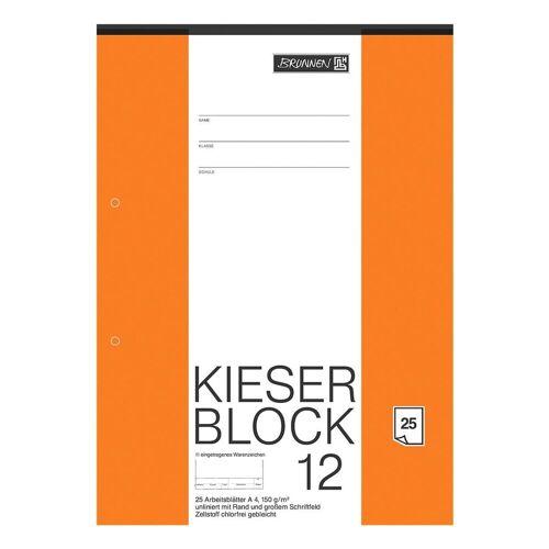 BRUNNEN Zeichenblock »KIESER 080012«, weiß