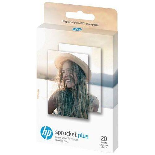 HP Fotopapier »Sprocket Plus ZINK® 20 Blatt«