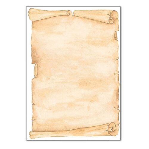 Sigel Motivpapier DP235 »Pergament«, braun