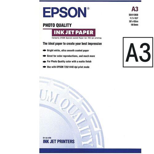 Epson InkJet-Papier, A3 »Photo Quality InkJet«, weiß
