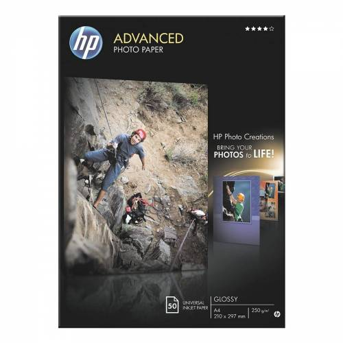 HP Fotopapier »Advanced Fotopapier A4«, weiß