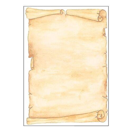 Sigel Motivpapier DP153 »Pergament«, braun