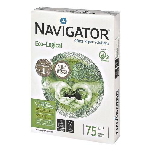 NAVIGATOR Multifunktionales Druckerpapier »Eco-Logical«, weiß