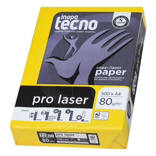 Inapa tecno Multifunktionales Druckerpapier »Pro Laser«, weiß