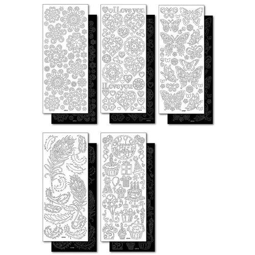 Folia Sticker »Ganzjahr«, 10 Bogen