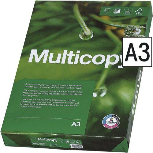 MULTICOPY Druckerpapier »«, Format DIN A3, 80 g/m²