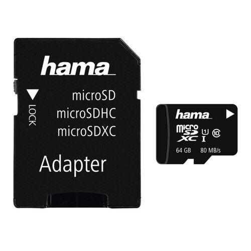 Hama »Inkl. Adapter« Speicherkarte (64 GB)