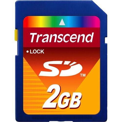 Transcend »SD Card« Speicherkarte (Lesegeschwindigkeit 20 MB/s)