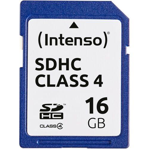 Intenso »SDHC Class 4« Speicherkarte (Lesegeschwindigkeit 21 MB/s)