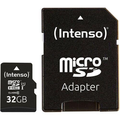 Intenso »Micro SD Card Speicherkarte 32GB inkl. SD Adapter« Speicherkarte